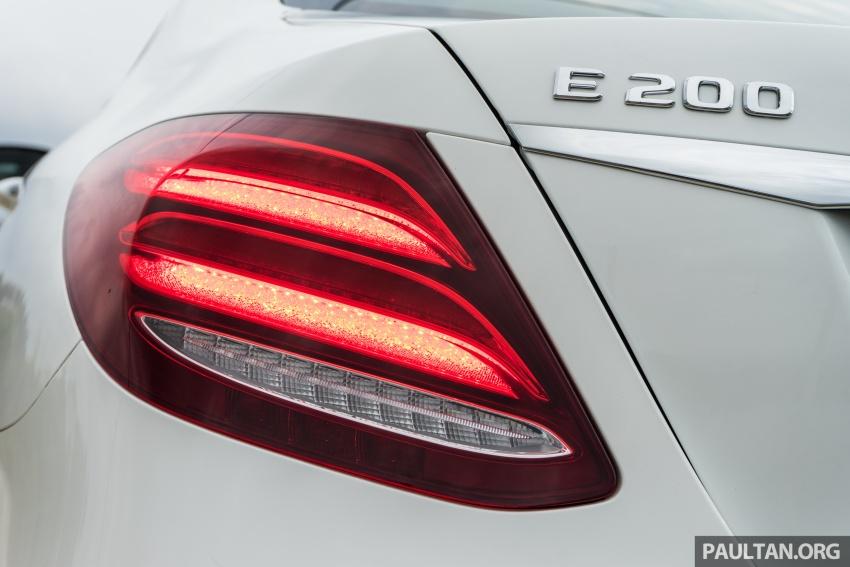 DRIVEN: W213 Mercedes-Benz E200 – exec stakes Image #566718