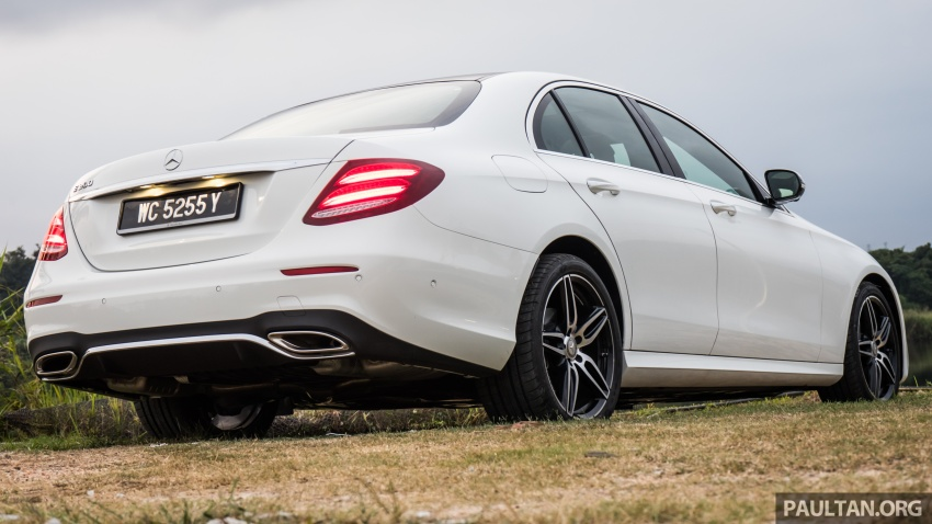 DRIVEN: W213 Mercedes-Benz E200 – exec stakes Image #566724