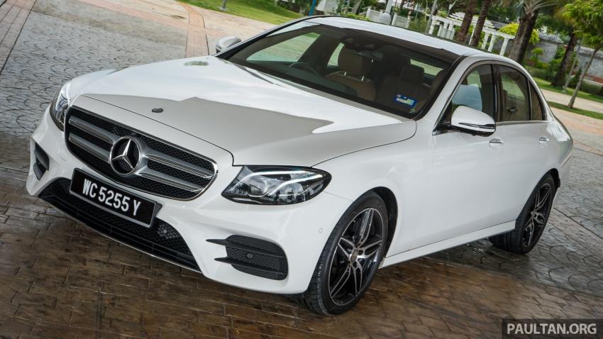 DRIVEN: W213 Mercedes-Benz E200 – exec stakes Image #566726