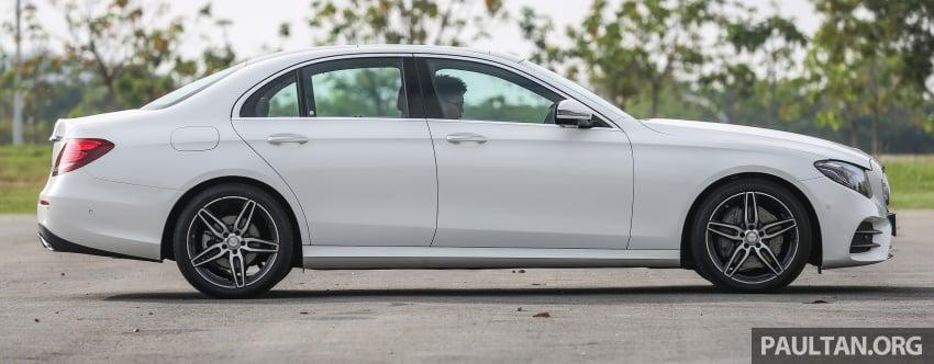 DRIVEN: W213 Mercedes-Benz E200 – exec stakes Image #566310