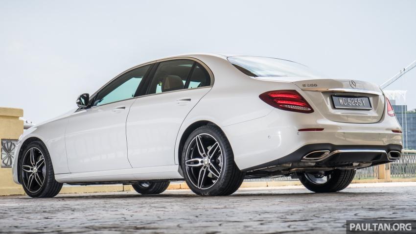 DRIVEN: W213 Mercedes-Benz E200 – exec stakes Image #566728