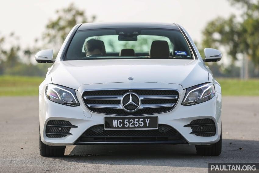 DRIVEN: W213 Mercedes-Benz E200 – exec stakes Image #566295