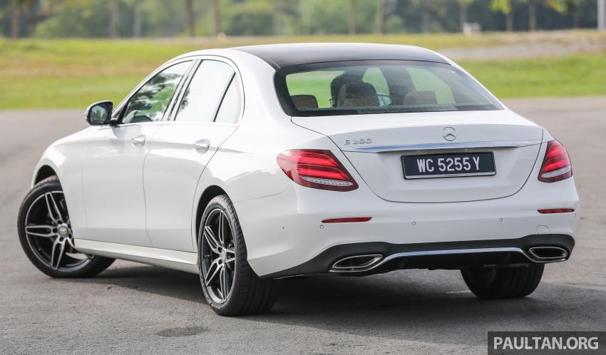 DRIVEN: W213 Mercedes-Benz E200 – exec stakes Image #566325