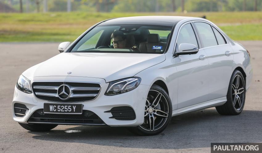 DRIVEN: W213 Mercedes-Benz E200 – exec stakes Image #566296