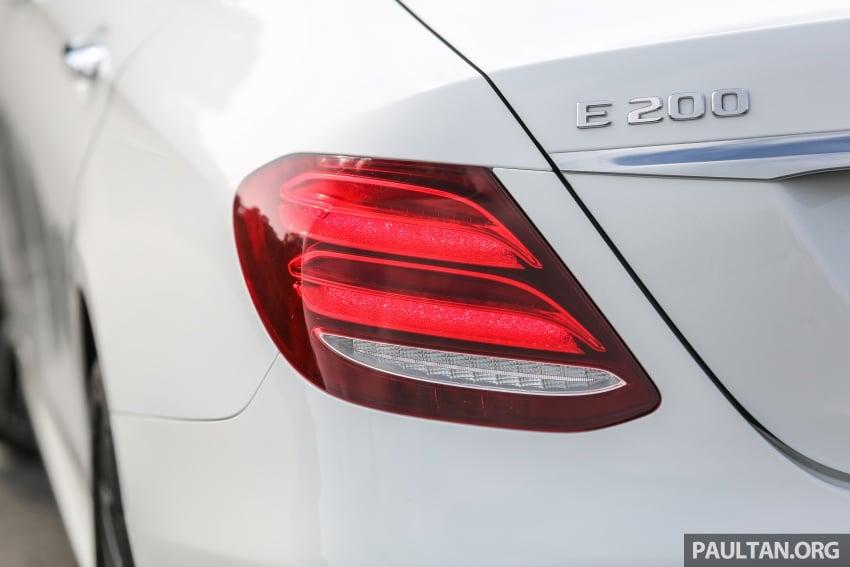 DRIVEN: W213 Mercedes-Benz E200 – exec stakes Image #566328