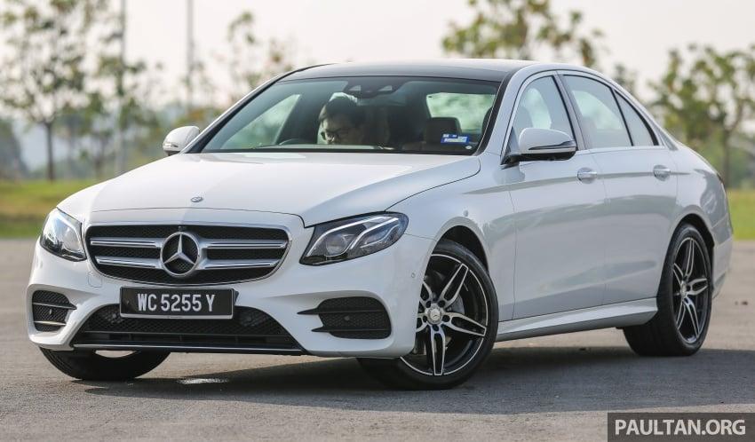 DRIVEN: W213 Mercedes-Benz E200 – exec stakes Image #566297