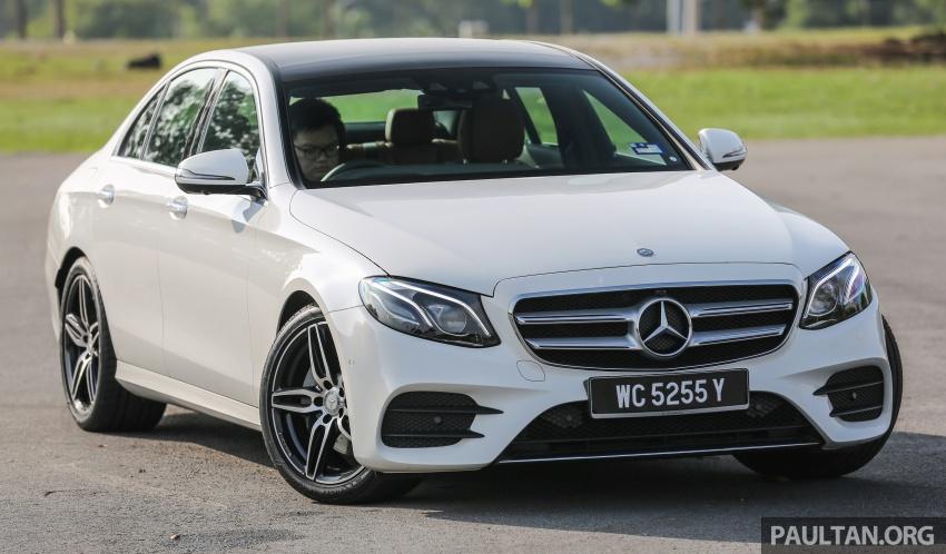 DRIVEN: W213 Mercedes-Benz E200 – exec stakes Image #566298