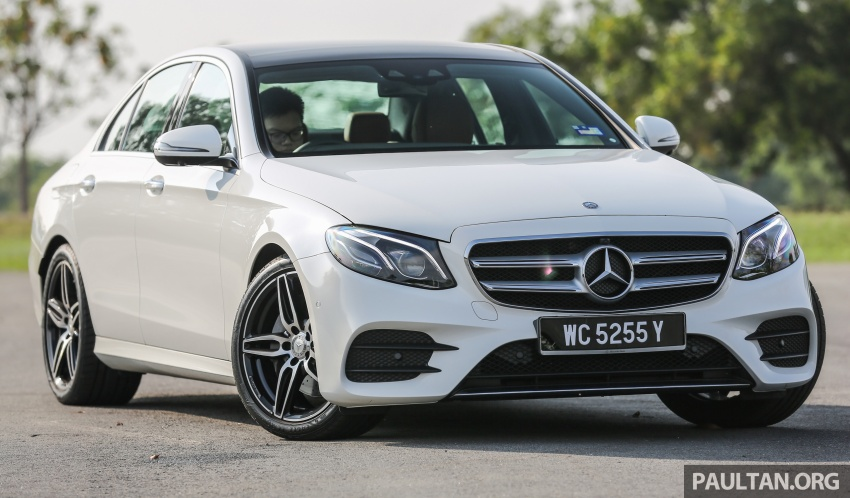 DRIVEN: W213 Mercedes-Benz E200 – exec stakes Image #566299