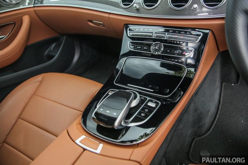 DRIVEN: W213 Mercedes-Benz E200 – exec stakes Image #566403