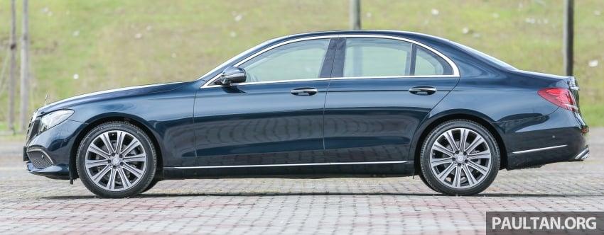 DRIVEN: W213 Mercedes-Benz E200 – exec stakes Image #566540
