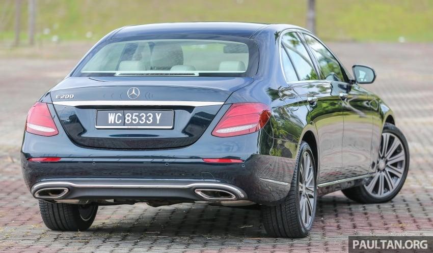 DRIVEN: W213 Mercedes-Benz E200 – exec stakes Image #566551