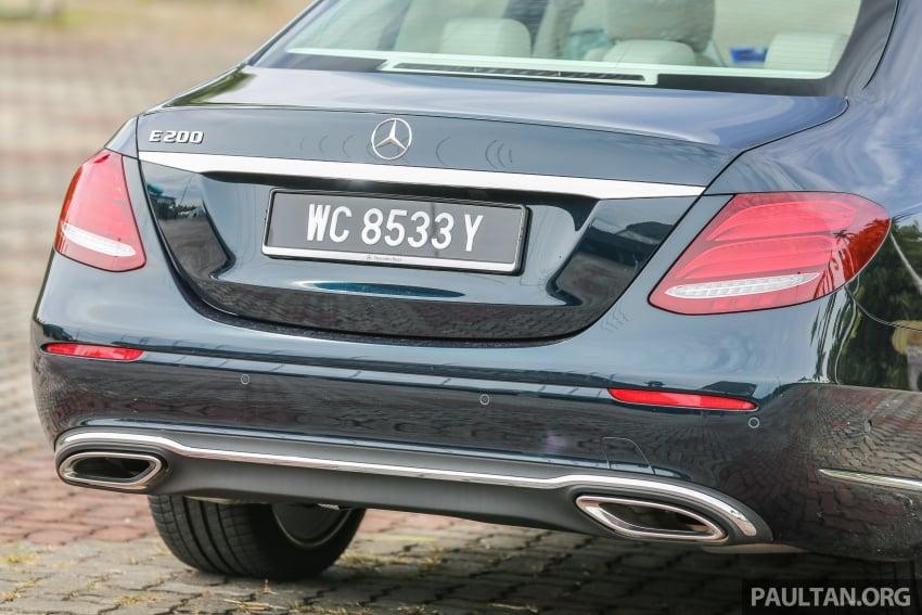 DRIVEN: W213 Mercedes-Benz E200 – exec stakes Image #566553
