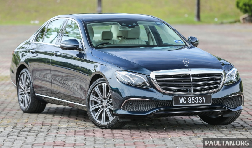DRIVEN: W213 Mercedes-Benz E200 – exec stakes Image #566526