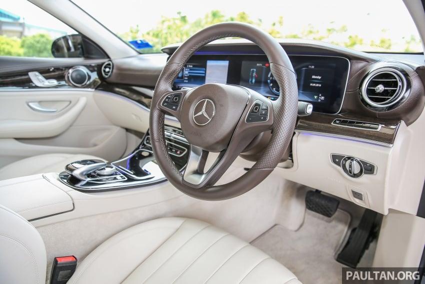 DRIVEN: W213 Mercedes-Benz E200 – exec stakes Image #566563