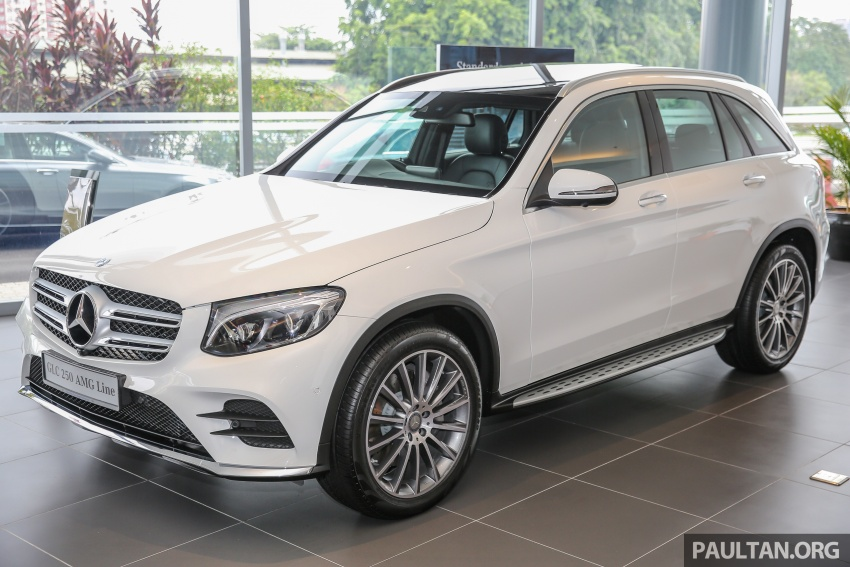 GALLERY: Mercedes-Benz GLC250 CKD in showroom Image #567811
