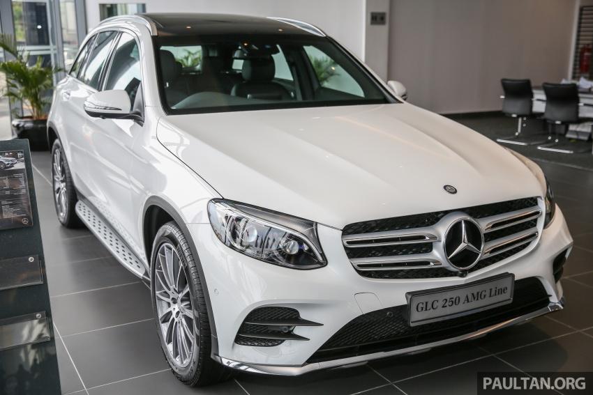 GALLERY: Mercedes-Benz GLC250 CKD in showroom Image #567812