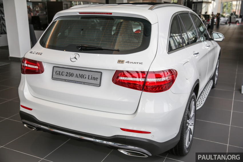 GALLERY: Mercedes-Benz GLC250 CKD in showroom Image #567814