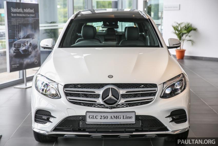 GALLERY: Mercedes-Benz GLC250 CKD in showroom Image #567815