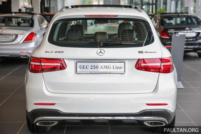 GALLERY: Mercedes-Benz GLC250 CKD in showroom Image #567816