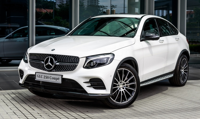Mercedes-Benz GLC Coupe makes its Malaysian debut – single GLC 250 4Matic variant, RM428,888 Image #569963