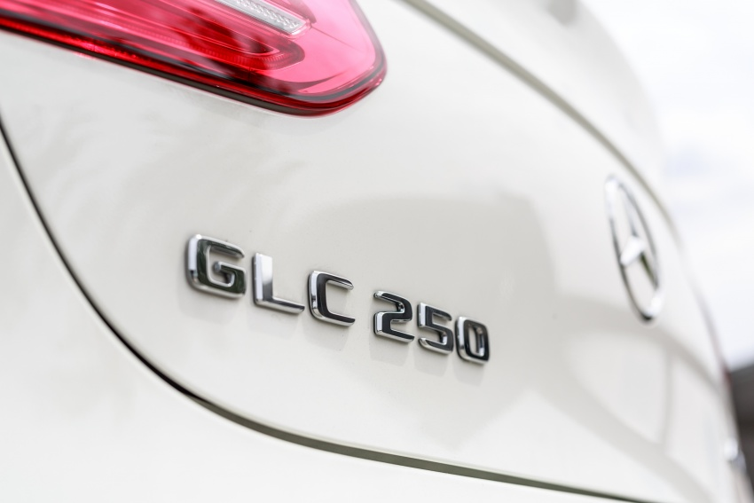Mercedes-Benz GLC Coupe makes its Malaysian debut – single GLC 250 4Matic variant, RM428,888 Image #569972