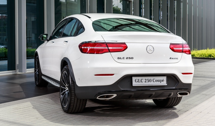 Mercedes-Benz GLC Coupe makes its Malaysian debut – single GLC 250 4Matic variant, RM428,888 Image #569964