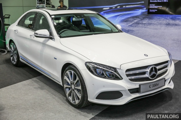 Mercedes-Benz C350e plug-in hybrid launched in Malaysia - three trim ...
