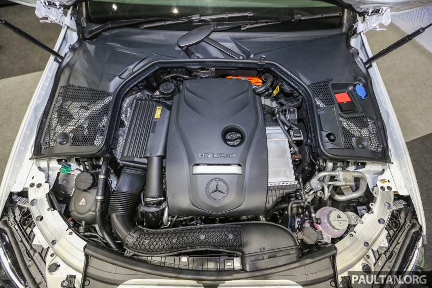 Mercedes-Benz C350e plug-in hybrid launched in Malaysia – three trim levels, RM290k to RM300k Image #558920