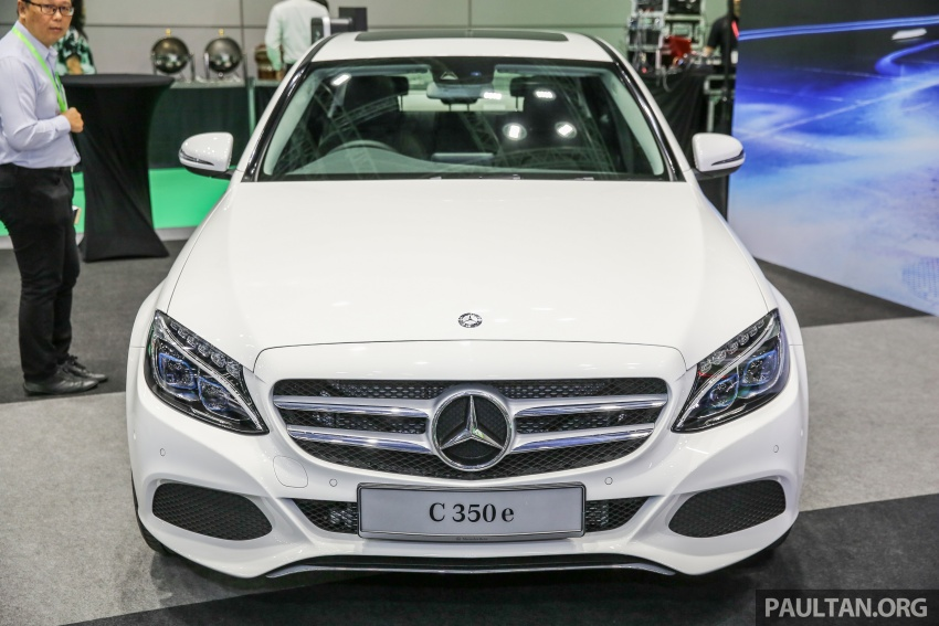 Mercedes-Benz C350e plug-in hybrid launched in Malaysia – three trim levels, RM290k to RM300k Image #558889