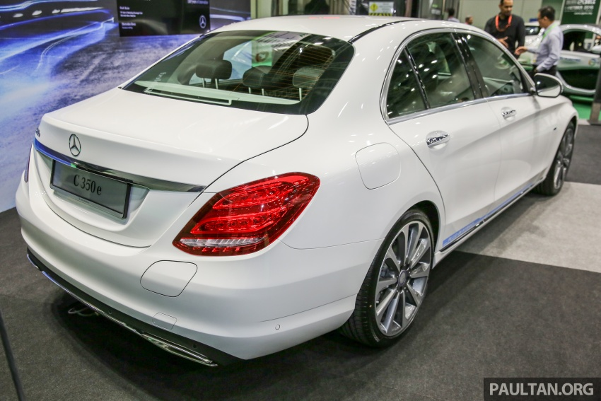 Mercedes-Benz C350e plug-in hybrid launched in Malaysia – three trim levels, RM290k to RM300k Image #558891