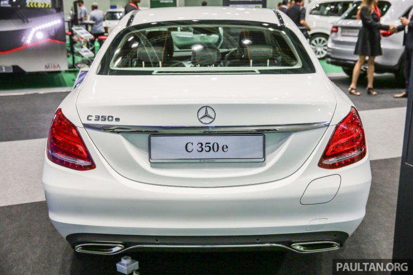 Mercedes-Benz C350e plug-in hybrid launched in Malaysia – three trim levels, RM290k to RM300k Image #558894