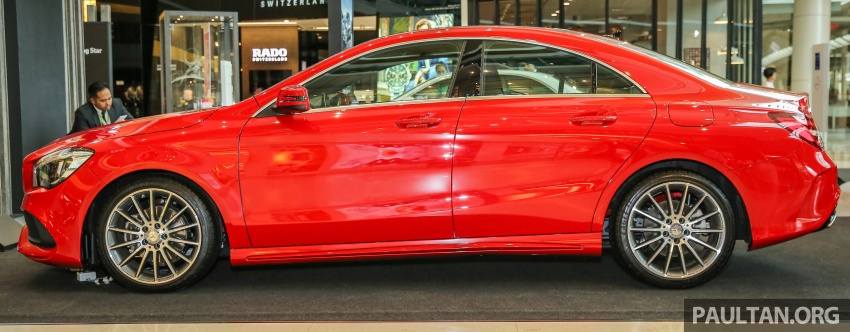 GALLERY: Mercedes-Benz CLA200 facelift, now AMG Image #562064
