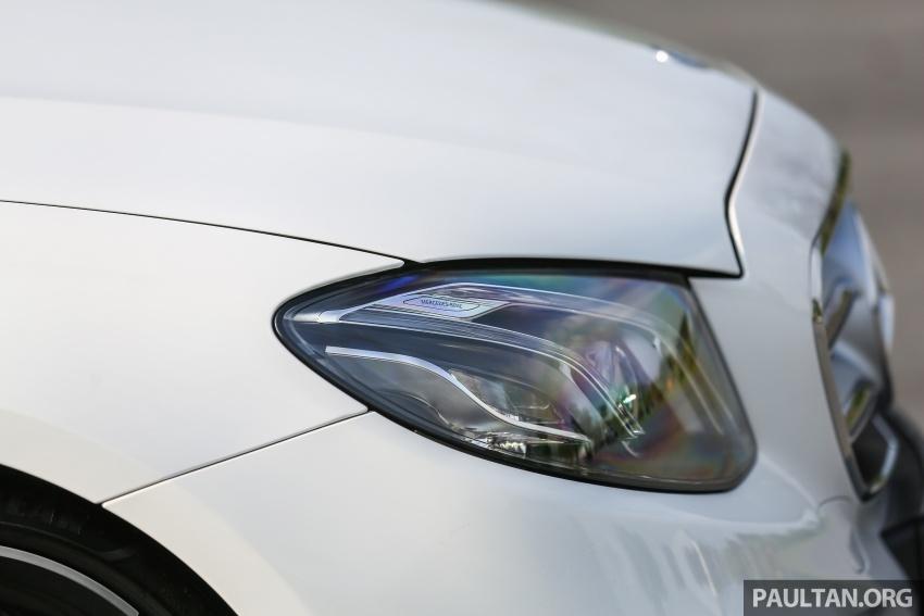 PANDU UJI: Mercedes-Benz W213 E 200 – penanda aras baharu segmen sedan mewah eksekutif Image #567138