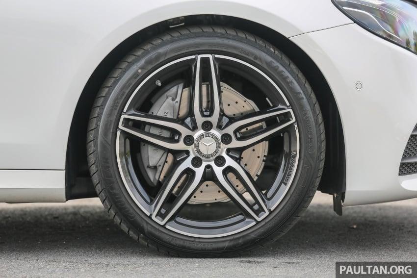 PANDU UJI: Mercedes-Benz W213 E 200 – penanda aras baharu segmen sedan mewah eksekutif Image #567133