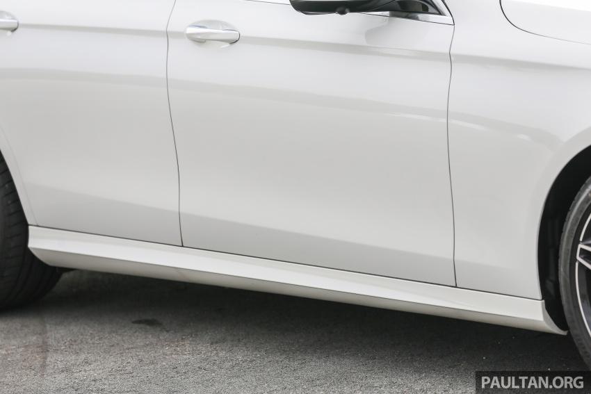PANDU UJI: Mercedes-Benz W213 E 200 – penanda aras baharu segmen sedan mewah eksekutif Image #567128