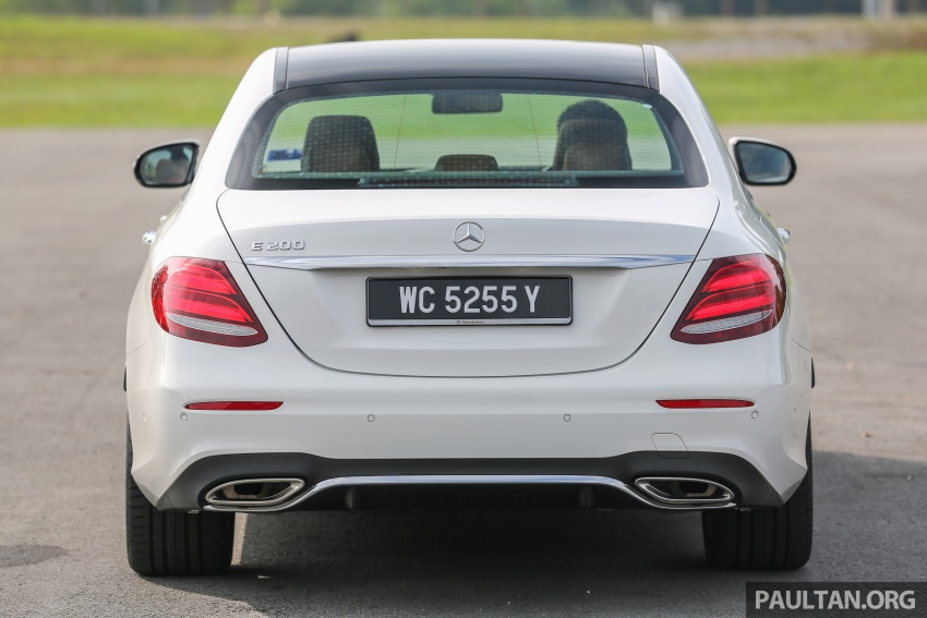 PANDU UJI: Mercedes-Benz W213 E 200 – penanda aras baharu segmen sedan mewah eksekutif Image #567124