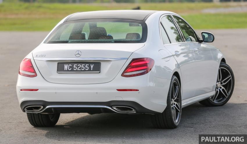 PANDU UJI: Mercedes-Benz W213 E 200 – penanda aras baharu segmen sedan mewah eksekutif Image #567000