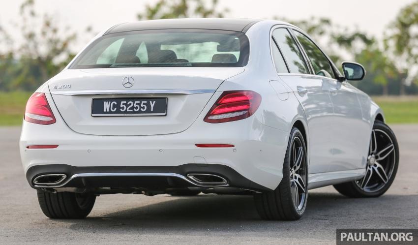 PANDU UJI: Mercedes-Benz W213 E 200 – penanda aras baharu segmen sedan mewah eksekutif Image #567001