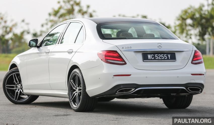 PANDU UJI: Mercedes-Benz W213 E 200 – penanda aras baharu segmen sedan mewah eksekutif Image #567003