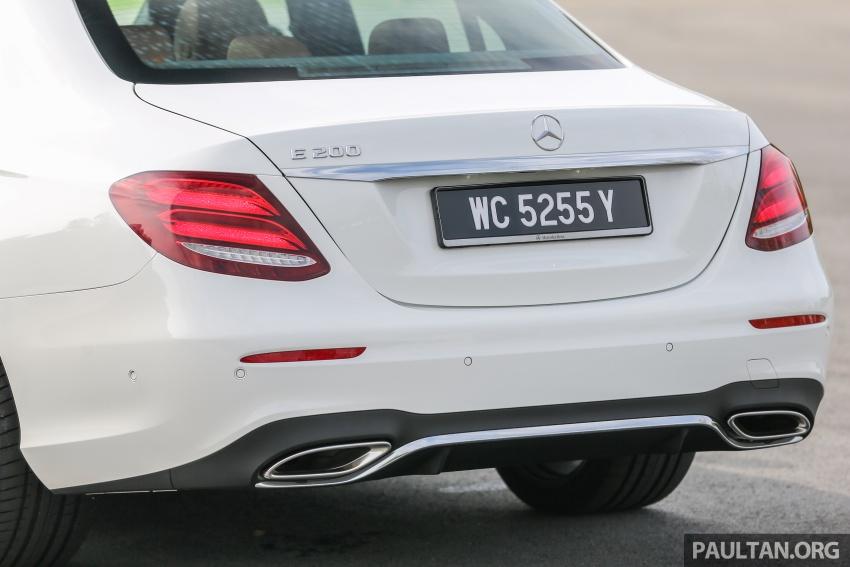 PANDU UJI: Mercedes-Benz W213 E 200 – penanda aras baharu segmen sedan mewah eksekutif Image #567121