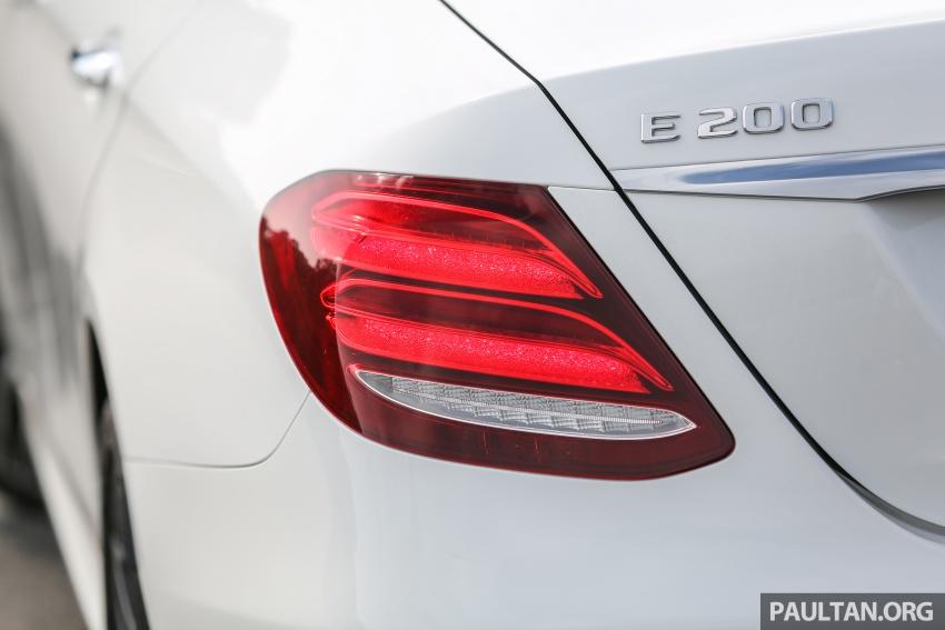 PANDU UJI: Mercedes-Benz W213 E 200 – penanda aras baharu segmen sedan mewah eksekutif Image #567122