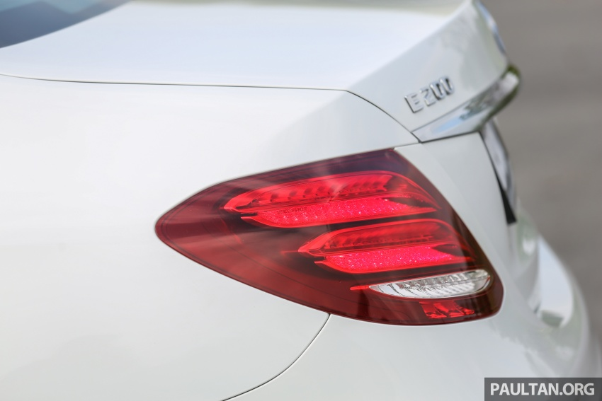PANDU UJI: Mercedes-Benz W213 E 200 – penanda aras baharu segmen sedan mewah eksekutif Image #567120