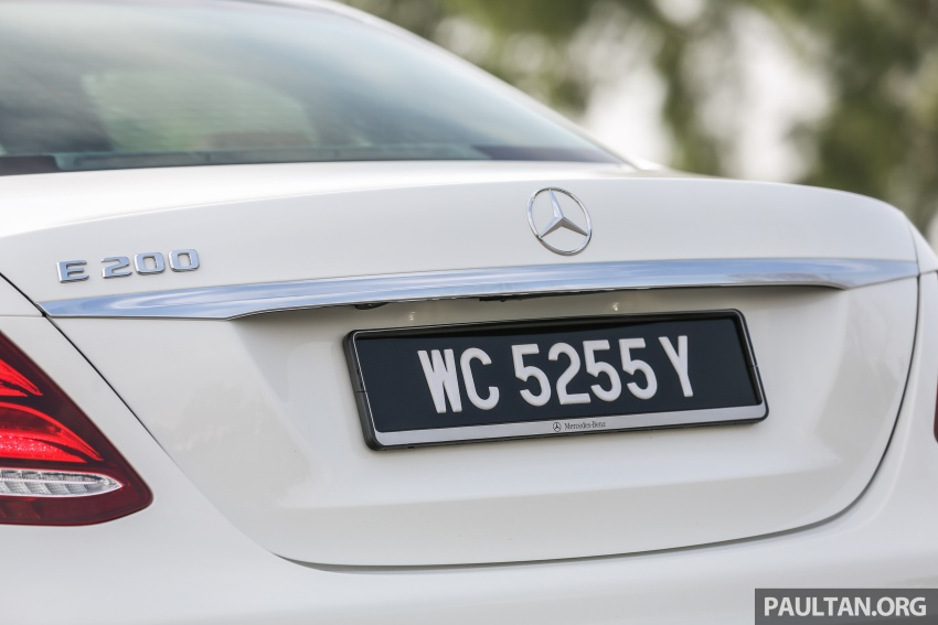PANDU UJI: Mercedes-Benz W213 E 200 – penanda aras baharu segmen sedan mewah eksekutif Image #567114