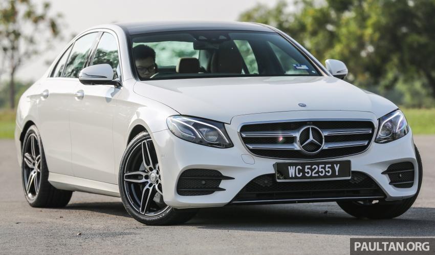PANDU UJI: Mercedes-Benz W213 E 200 – penanda aras baharu segmen sedan mewah eksekutif Image #566997