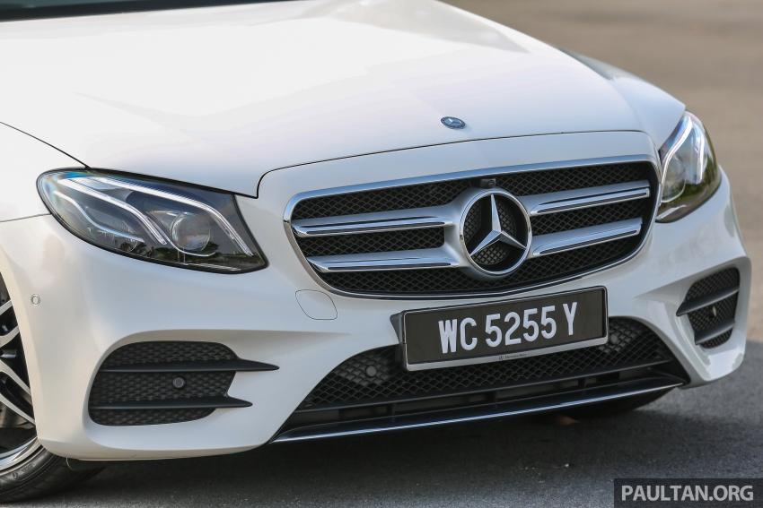PANDU UJI: Mercedes-Benz W213 E 200 – penanda aras baharu segmen sedan mewah eksekutif Image #567109