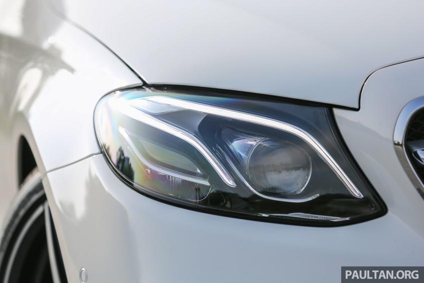 PANDU UJI: Mercedes-Benz W213 E 200 – penanda aras baharu segmen sedan mewah eksekutif Image #567108