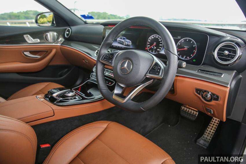 PANDU UJI: Mercedes-Benz W213 E 200 – penanda aras baharu segmen sedan mewah eksekutif Image #567106
