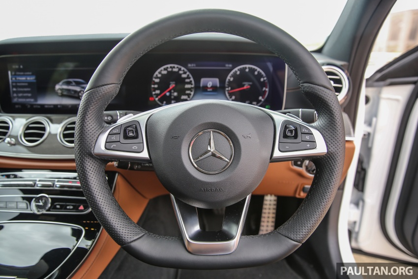 PANDU UJI: Mercedes-Benz W213 E 200 – penanda aras baharu segmen sedan mewah eksekutif Image #567095