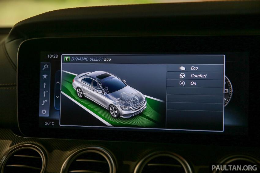 PANDU UJI: Mercedes-Benz W213 E 200 – penanda aras baharu segmen sedan mewah eksekutif Image #567092