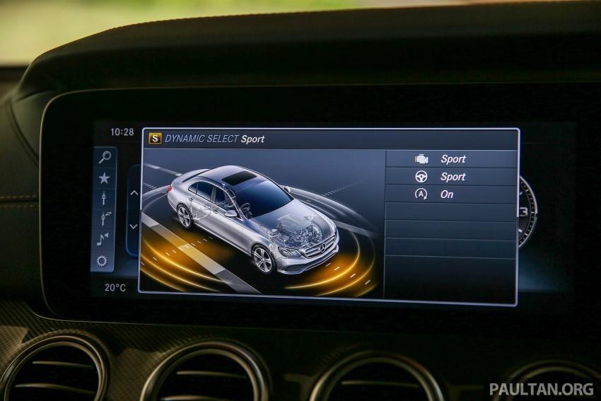 PANDU UJI: Mercedes-Benz W213 E 200 – penanda aras baharu segmen sedan mewah eksekutif Image #567090